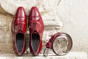 casastera_musani scarpe uomo rosse