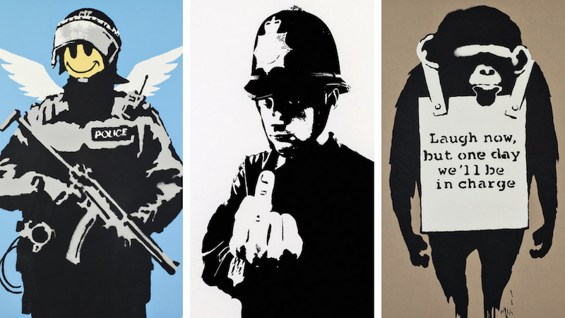 Banksy al museo Mudec, la potenza della street art