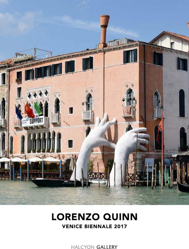"""Lorenzo Quinn, le sue mani """"Support Venice"""""""